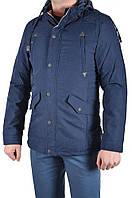 Куртка мужская демисезон Black&fish 12211(02) (XL (44), темно синий )
