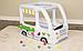 Надувной манеж с мячиками Bestway Фургончик мороженщика 52268, фото 8
