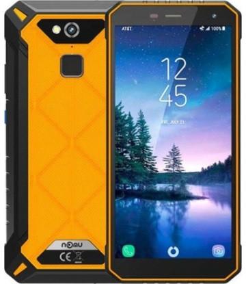 """Смартфон NOMU S50 Pro Orange, 4/64Gb, 16/8Мп, 8 ядер, IP68, 2sim, экран 5.72"""" IPS, 5000mAh, 4G, Helio P23"""