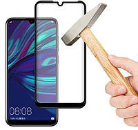 Захисне скло для Huawei Y6s 2019 чорне, фото 1