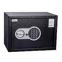 Мебельный сейф для офиса и дома 200х310х200мм с взломостойким электронным замком