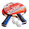 Набір для настільного тенісу 2 ракетки, 2 м'ячі MK (деревина, гума, пластик) MT-3311