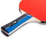 Набор для настольного тенниса 2 ракетки, 2 мяча MK  (древесина, резина, пластик) MT-3311, фото 4