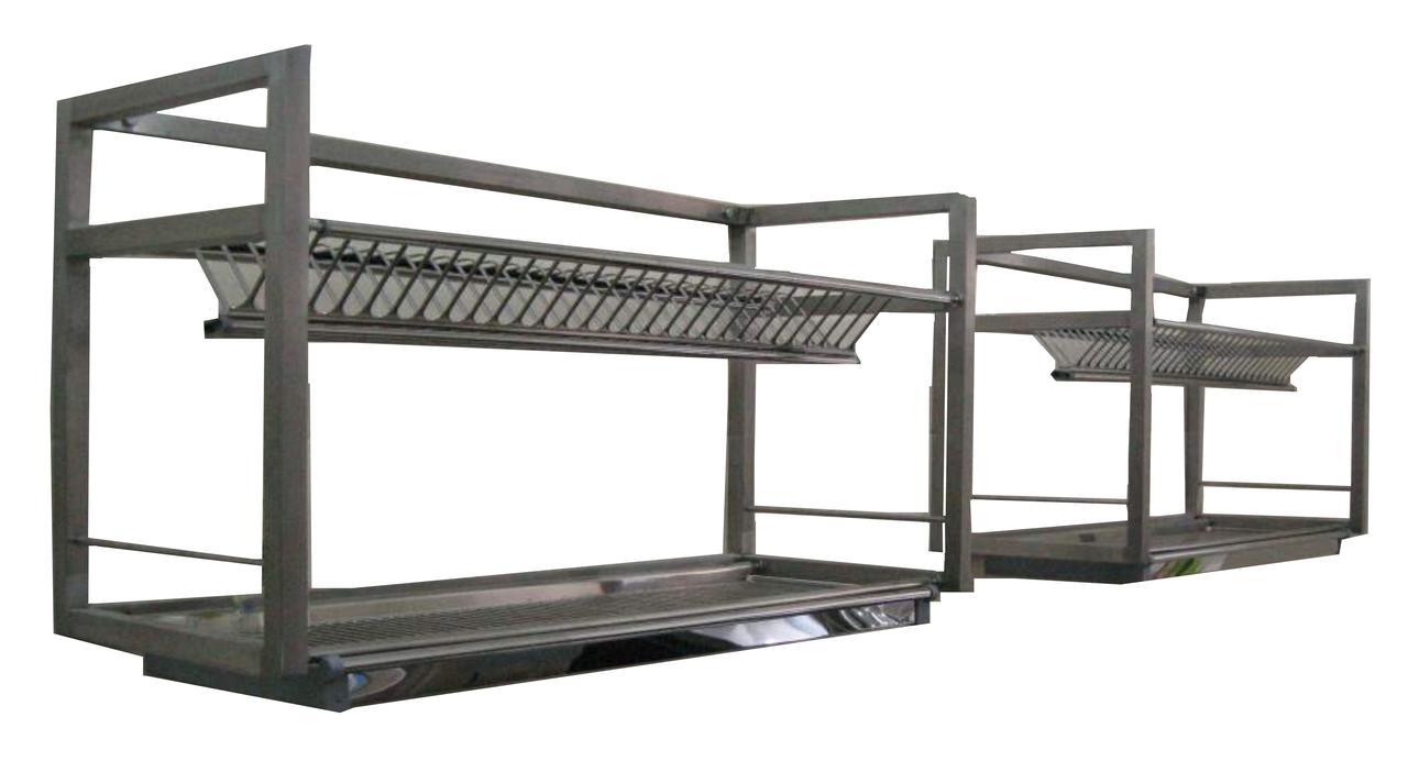Полка-сушка для посуды 2-х уровневая GMS  1000х325х590