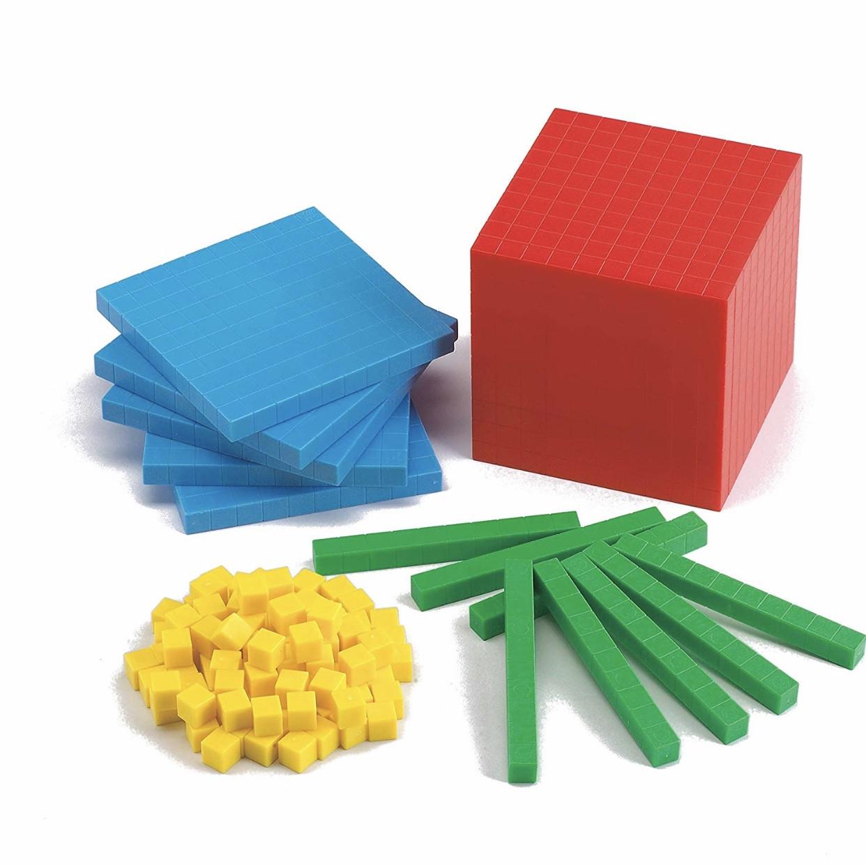 Математичний куб. Демонстраційний набір від 1 до 1000. EDX Education