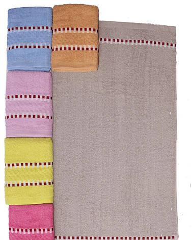 Полотенце банное махровое размер 140*70 см (от 6 шт), фото 2