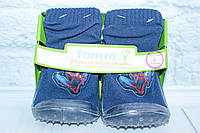 Пинетки-носочки Tom.m для мальчика р. 4(12 мес.), 6(18 мес.), 8(24мес.), фото 1
