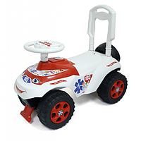 Толокар с музыкальным рулем.Машинка каталка для малыша.Детский толокар Украина.