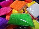 Воздушный пластилин для лепки с шариками, фото 5