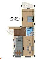 2-кімнатна квартира, 73,5 кв.м., фото 1