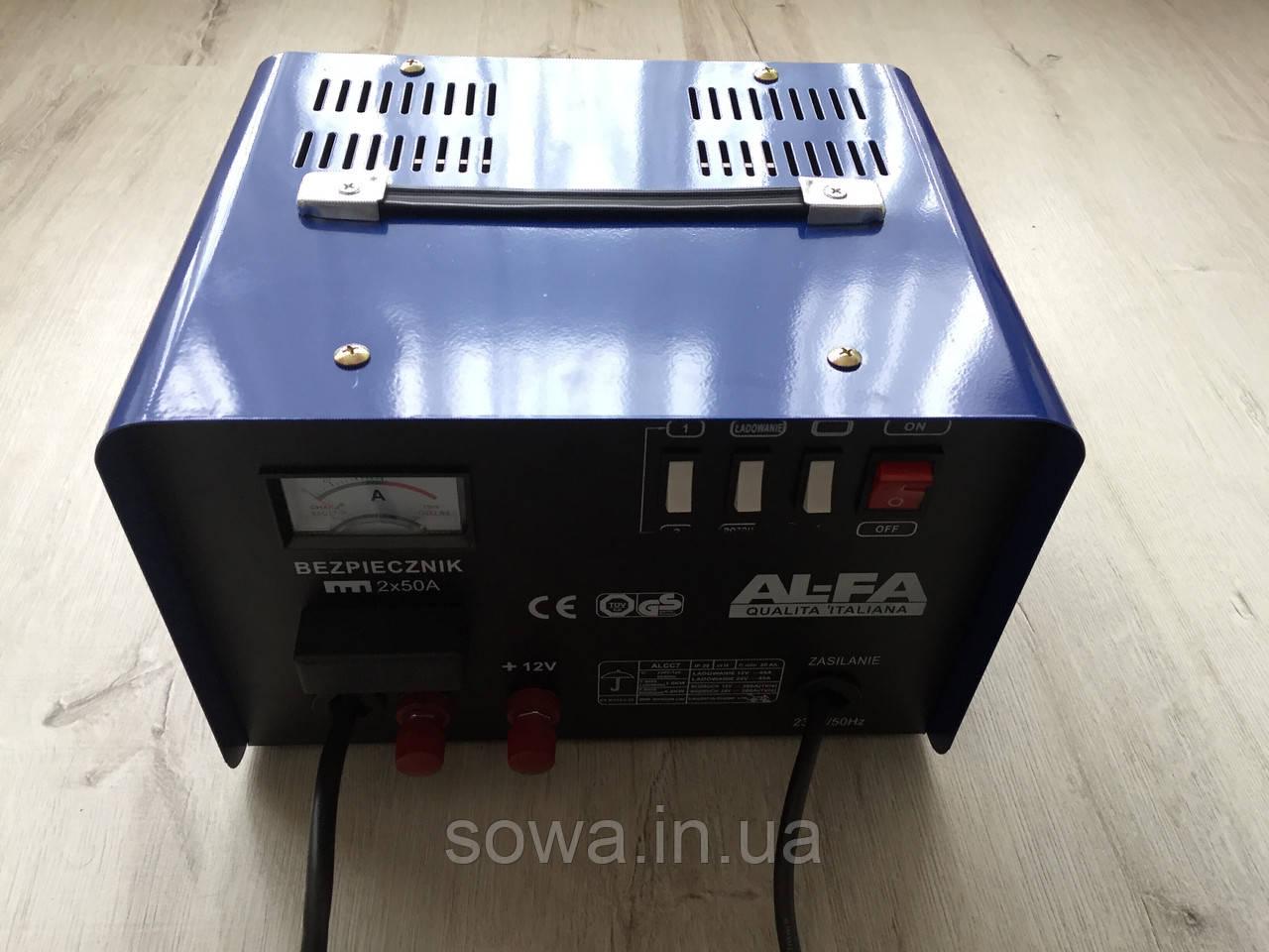 ✔️ Пуско зарядний пристрій AL-FA PRO-LINA ALCC7 ( 12В / 24В )