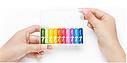 Батарейки Xiaomi ZMi Rainbow AAA batteries 10 шт, фото 4