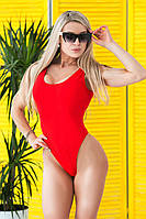 Купальник раздельный ,купальник раздельный пляжный ,цельный купальник ,купальник слитный ярко-красный