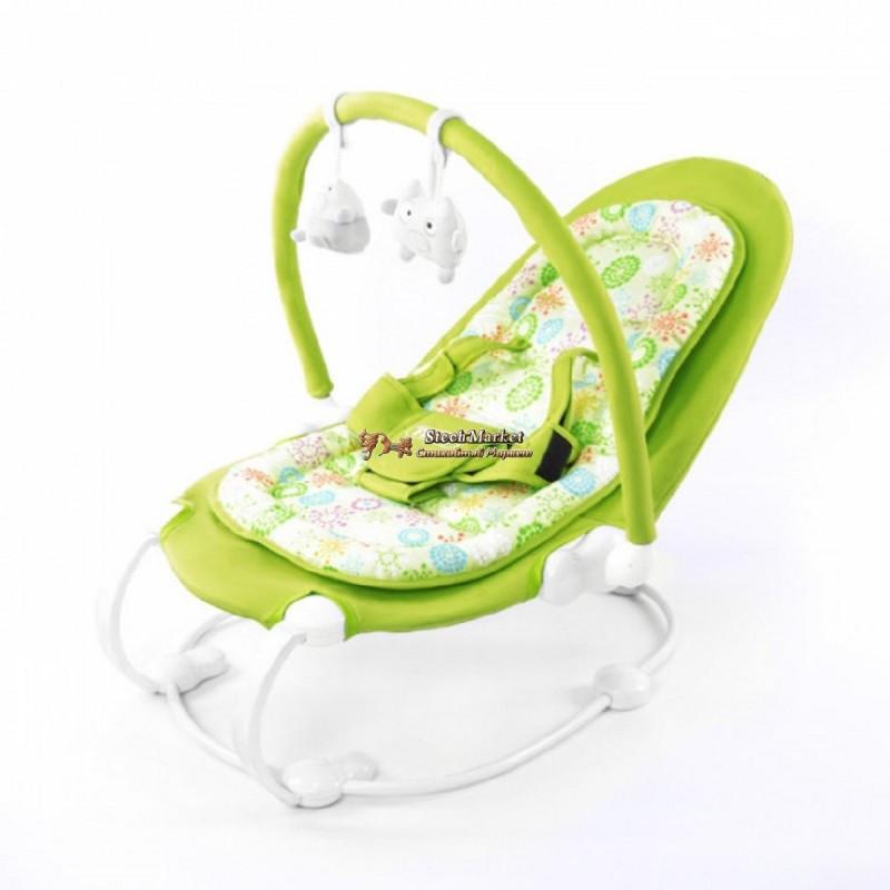Детский шезлонг-качалка TILLY BT-BB-0004 Green