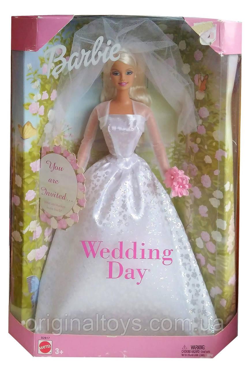Колекційна лялька Барбі День весілля Barbie Wedding Day 2002 Mattel B2817