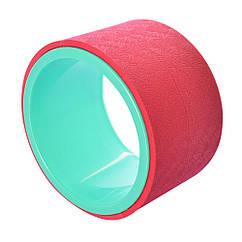 Спортивный инвентарь MS 2483(Red) колесо для йоги