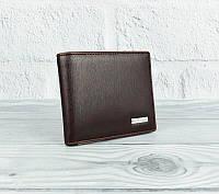 Кошелек мужской кожаный коричневый карты Prensiti 10-8731, фото 1