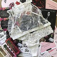 Комплект нежного кружевного белья Victorias Secret оригинал Виктория Сикрет