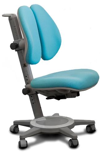 Кресло Mealux Cambridge Duo KBL (арт.Y-415 KBL) обивка однотонная синяя