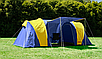 Туристическая палатка Abarqs Gobi 4 местная 3000мм, фото 6