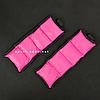 """Утяжелители для рук и ног """"HF ЭЛИТ"""" розовый 1.0 кг (2 шт по 0.5 кг), фото 3"""
