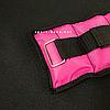 """Утяжелители для рук и ног """"HF ЭЛИТ"""" розовый 1.0 кг (2 шт по 0.5 кг), фото 2"""