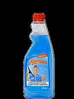 Средство для мытья стекол и блестящих поверхностей (запаска) 500 мл Чистюня