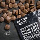 Сухий беззерновий корм PrimaDog лосось з картоплею для дорослих собак усіх порід, фото 2