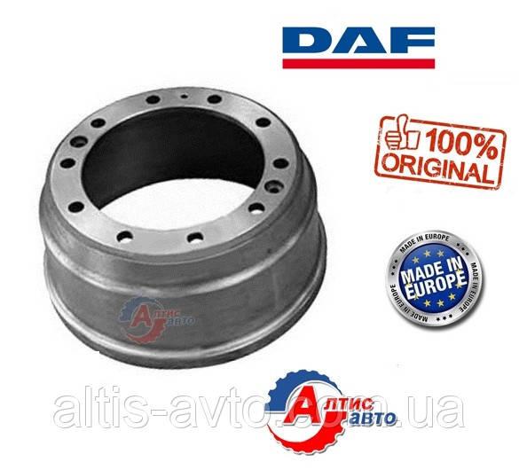 Передний тормозной барабан DAF 95 xf, 85 75 65 cf, Евро 2 1 диаметр 420мм 10 шпилек 1233462, 0284620