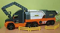 Грузовик Wader Super Tech Truck со строительными контейнерами