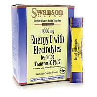 Энергия С с электролитами, Energy C with Electrolytes, Swanson, 30