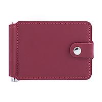 Зажим для денег v.1.0. Fisher Gifts STANDART красный (кожа)
