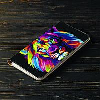Портмоне v.2.0. Fisher Gifts 15 Цветной лев (эко-кожа), фото 1