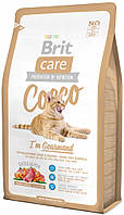 Корм для котов Brit Care Cat Cocco I am Gourmand 7кг, брит для привередливых кошек и котов