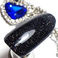 Топ c блестками для гель лака без липкого слоя Galaxy Top Global Fashion 15 мл №06