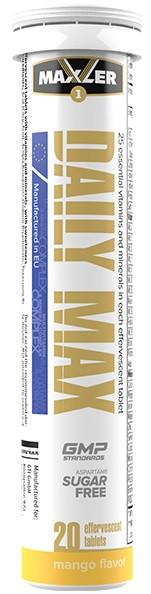 Витамины и минералы Maxler - Daily Max Effervescent (20 таблеток)