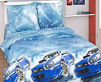 """Постельное белье """"Форсаж (Subaru)"""", двуспальный"""