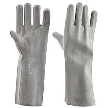 Перчатки защитные диэлектрические резиновые шовные [испыт. на 9 кВ]