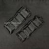 """Утяжелители для рук и ног """"HF ЭЛИТ"""" черный 1.0 кг (2 шт по 0.5 кг), фото 3"""