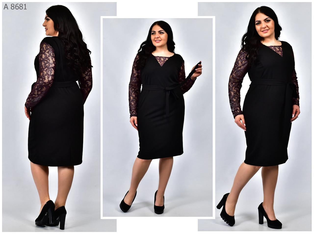 Нарядное женское платье, батал  размер: 54.56.58.60.62.64.66