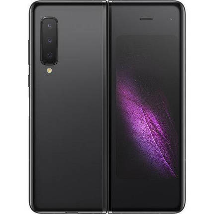 Смартфон Samsung Galaxy Fold 12/512 Gb Black (SM-F900), фото 2