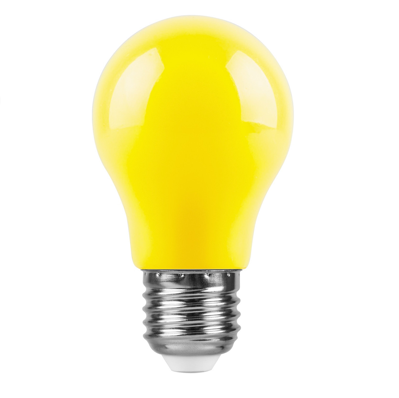 Светодиодная лампа Feron LB-375 A50 230V 3W E27 желтая