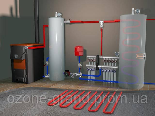 монтаж систем центрального отопления