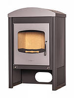 Отопительная печь-камин FLAMINGO STAVANGER (серый)
