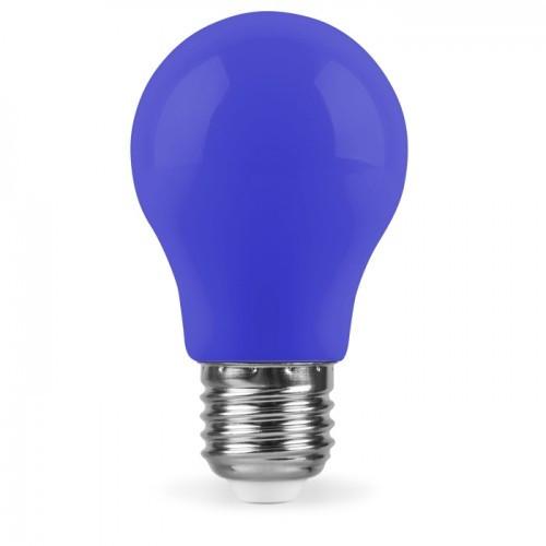 Светодиодная лампа Feron LB-375 A50 230V 3W E27 синяя