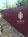 Установка забора из профнастила цена киев, монтаж ворота, калитка с гарантией, фото 2