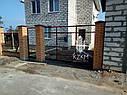 Установка забора из профнастила цена киев, монтаж ворота, калитка с гарантией, фото 5