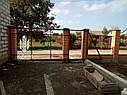 Установка забора из профнастила цена киев, монтаж ворота, калитка с гарантией, фото 7