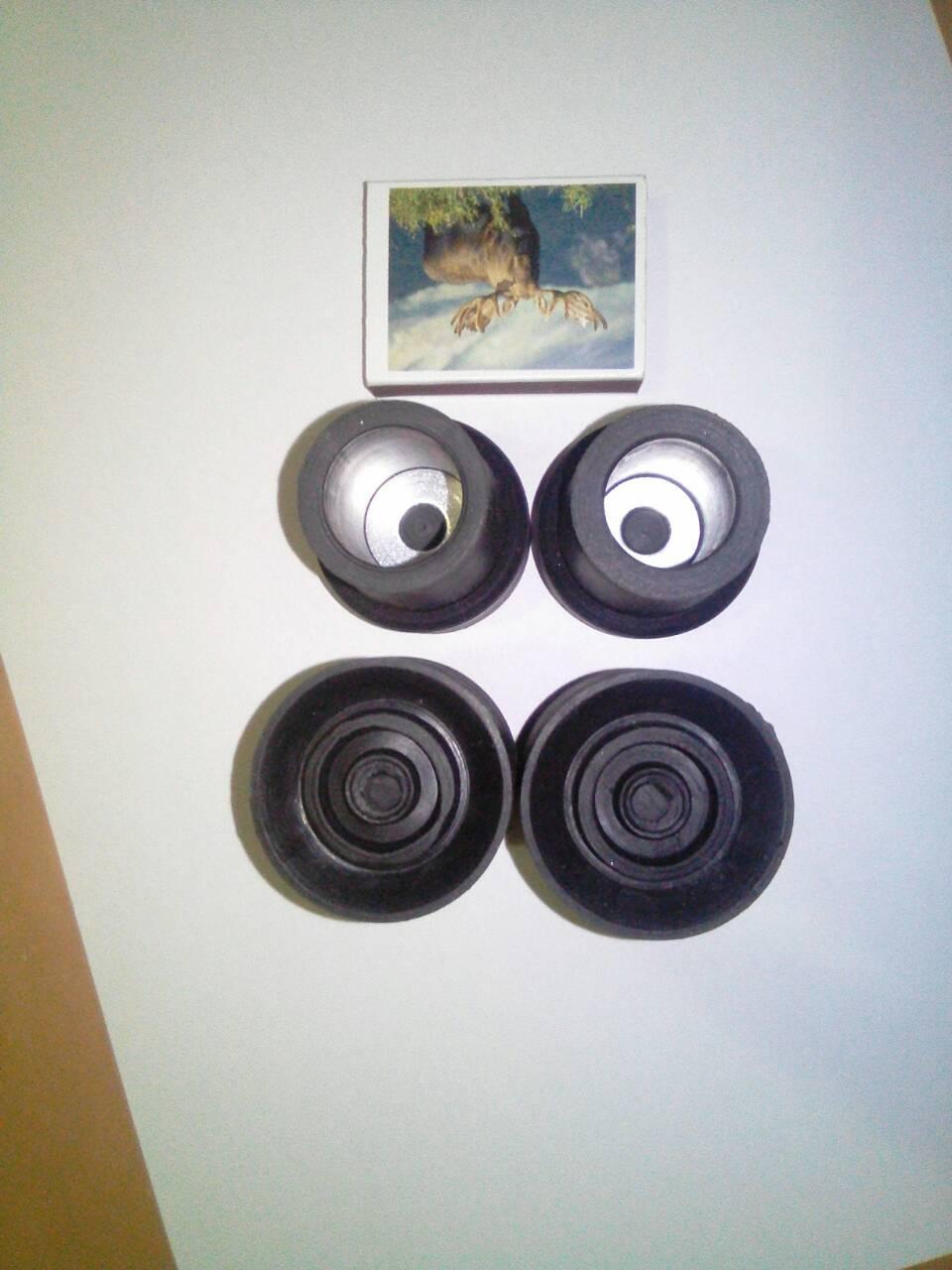 Накостыльник (наконечник для костыля) 25х35 мм Черный