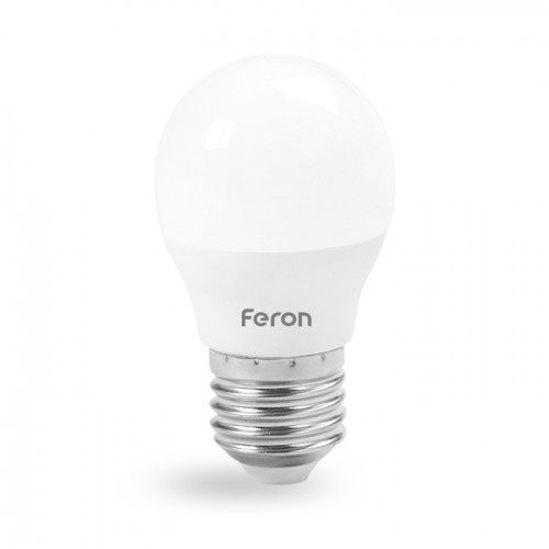 Светодиодная лампа Feron LB-745 G45 Е27 230V 6W 520Lm 4000K